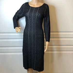 Calvin Klein Long Sleeve Sheath Dress Size M